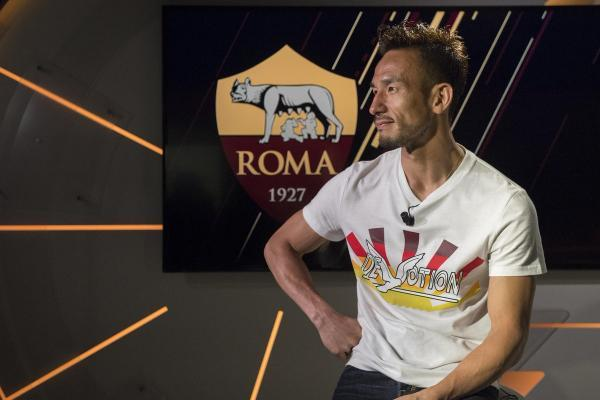 Great to see Hidetoshi Nakata, a Scudetto winner with ASRoma in 2001, again!
