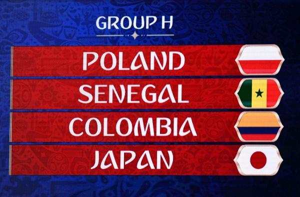 World Cup Group H Colombia and Poland look like favorites, but Senegal and Japan wont make things easy