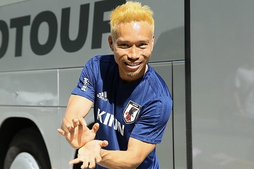 nagatomo yuto Blonde Hair