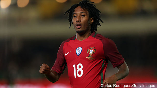 Portugal forward Gelson Martins