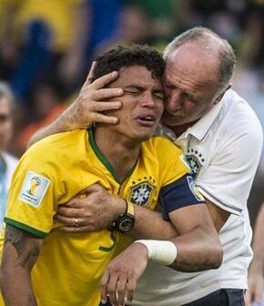 Thiago Silva crybaby
