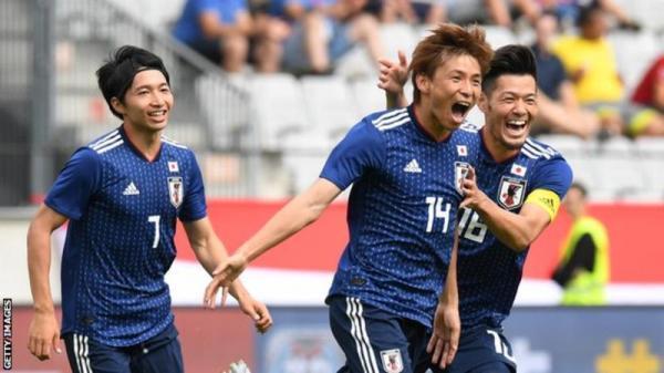Japan 4-2 Paraguay - inui takashi goal