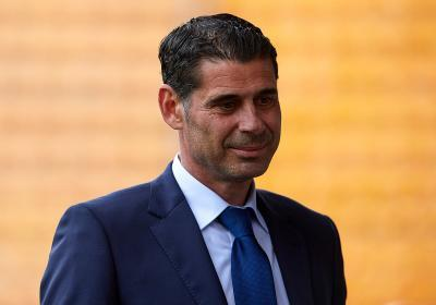 Fernando Hierro will take charge of the Spanish Team