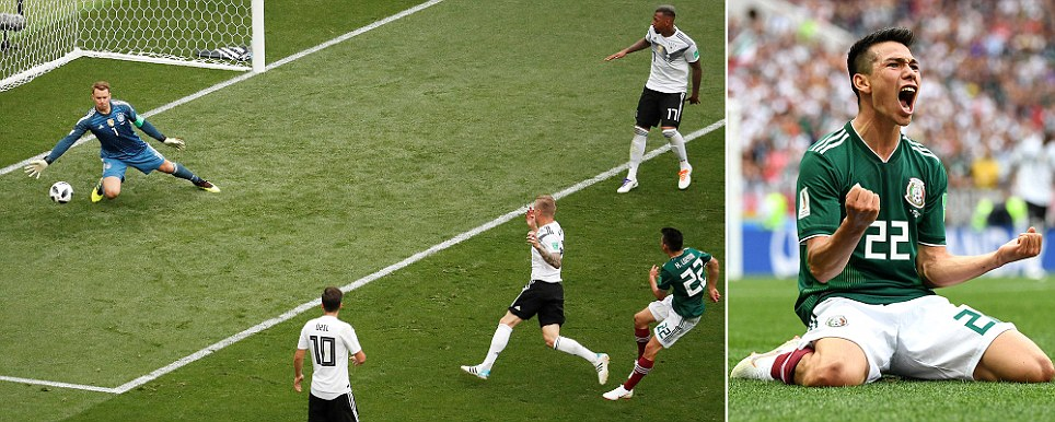 Germany v Mexico 0-1 2018