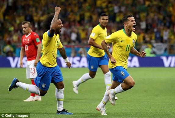 Brazil vs Switzerland [2018 FIFA World Cup]