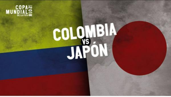 Colombia vs Japan 2018