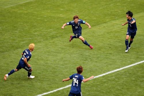 Yuya Osako wins Man of the Match vs Colombia