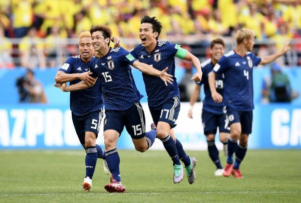 Japans victory over Colombia was the first time ever that an Asian team defeated a South American team at the World Cup
