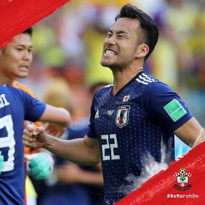 Japans victory over Colombia yoshida maya