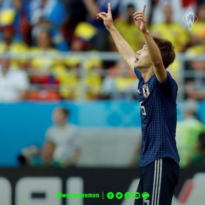 Japans victory over Colombia osako goal
