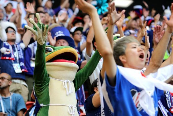 Japans World Cup mascot, Ippei the frog, is our new favorite thing