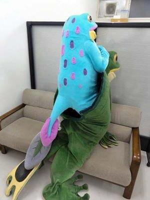 wondering whos inside Ippei-kuns costume