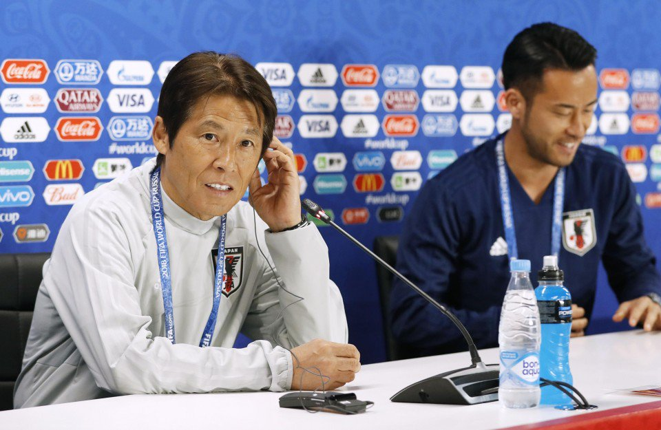 Senegal match will decide Japans World Cup fate Nishino says