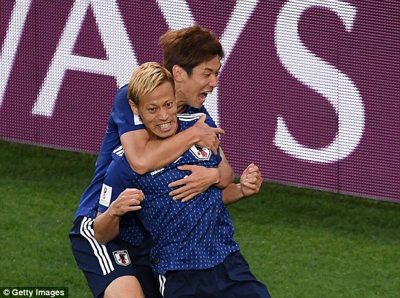 Japan 2-2 Senegal, RESULT Keisuke Honda comes off the bench to level