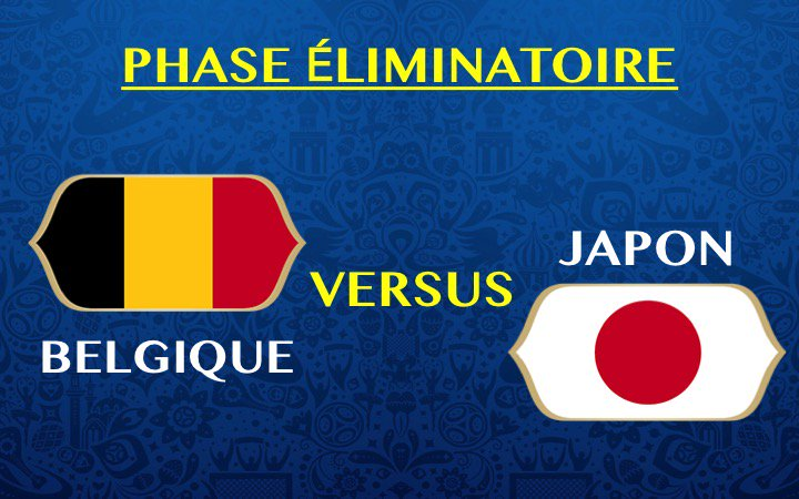 JPN vs BEL world cup