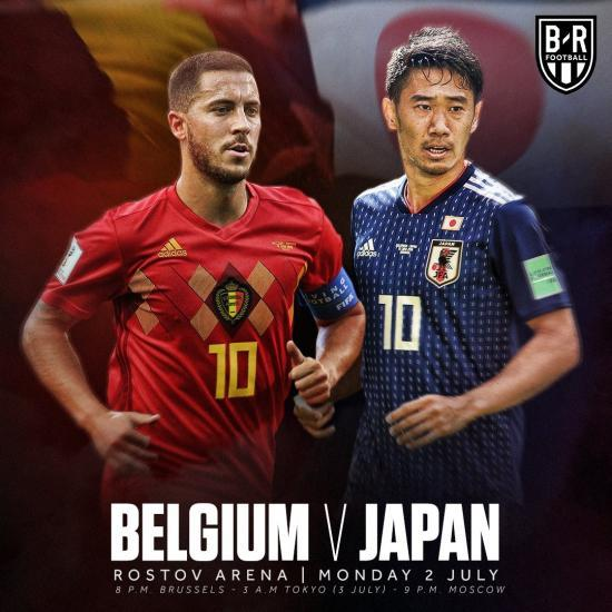 World Cup 2018 Belgium vs Japan preview