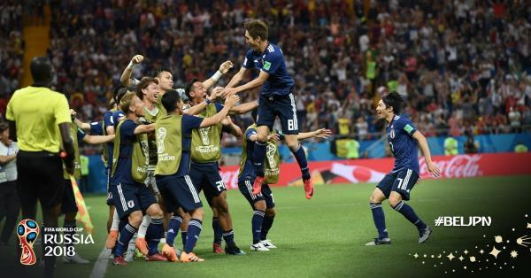 Japan eliminated from 2018 World Cup, Belgium advances to quarter finals