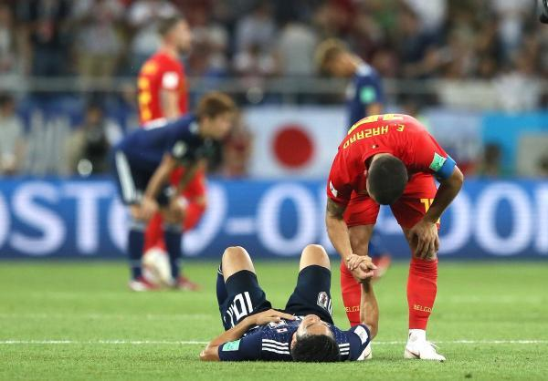 Japan 2-3 Belgium 2018 World Cup