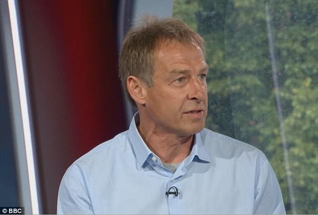 Japan is considering hiring Jurgen Klinsmann to be their next manager