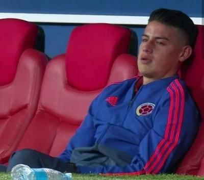 James Rodriguez cry broke my heart