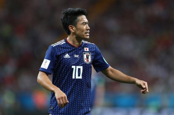 Shinji Kagawa agaist Belgium world cup