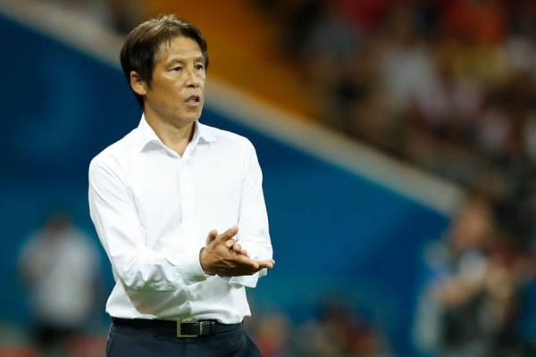 Japanese FA says Akira Nishino will not continue as Japan's coach