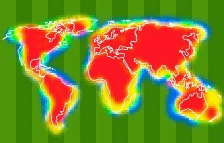 Perisic heatmap