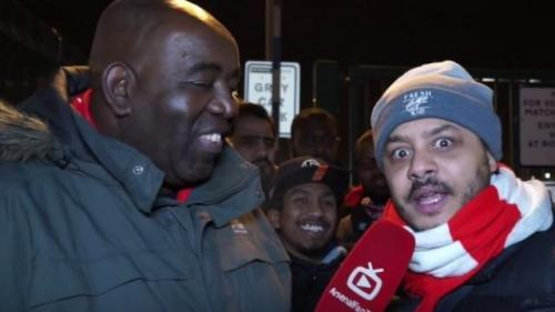 Popular YouTube shouting series ArsenalFanTV