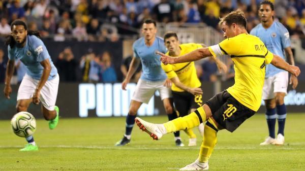 Borussia Dortmund beat Manchester City ICC2018
