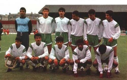 Saudi under-16 squad from the 1980s