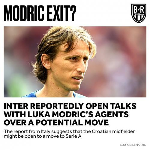 Di Marzio Luka Modric is open to a transfer to Inter Real Madrid also willing to consider the move