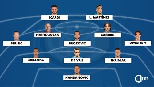 Le XI possible de lInter Milan la saison prochaine en cas de venue de Luka Modrić
