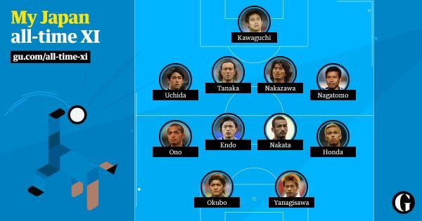 Japans All Time World Cup XI chosen by malaysian