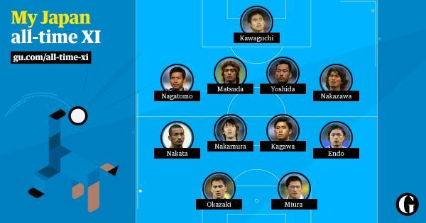 My Japan all time XI chosen by indonesian