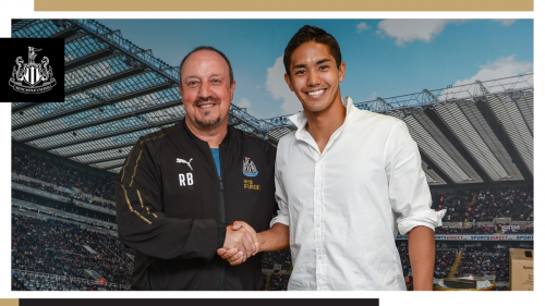 muto with Rafa Benítez