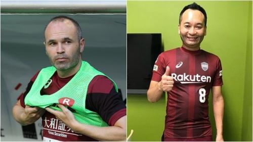 FC Tokyo to hire Andres Iniesta impersonator with Vissel Kobe star set to miss game