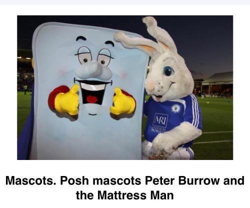 Mattress Man at Peterborough