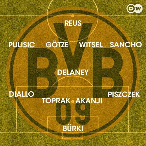 Lucien Favre has favored a 4-1-4-1 formation in pre-season