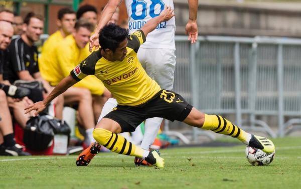 Borussia Dortmund 4_3 FC Zürich kagawa assists