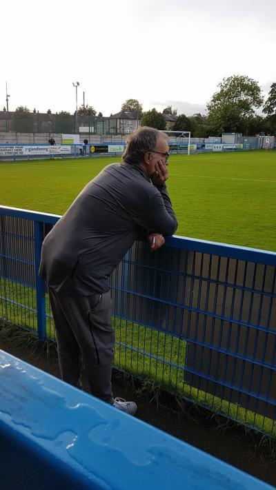 Bielsa at the Under 23 game