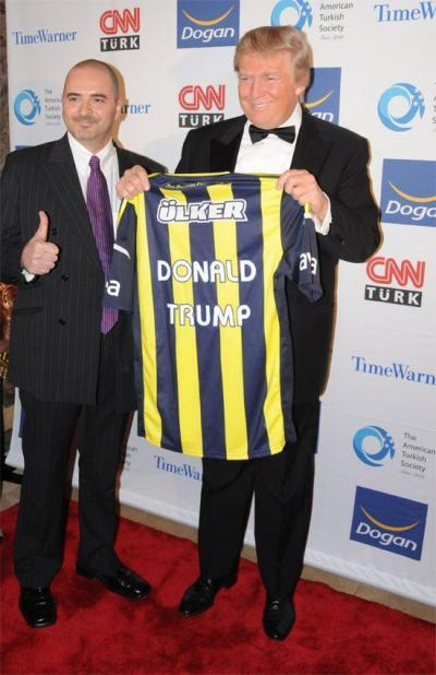 Trump is a Beşiktaş supporter confirmed