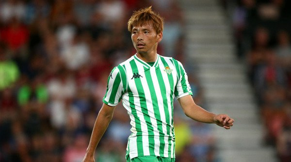 Takashi Inui debut for Betis