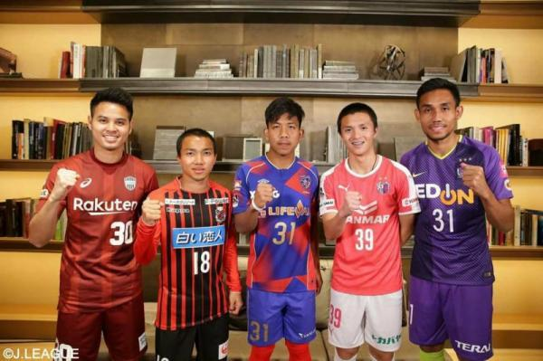 thai j league Chanathip Theerathon Teerasil
