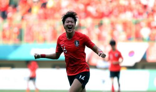 South Korea beat Uzbekistan in the Asian Games with a 118th minute winner to win 4-3 AET