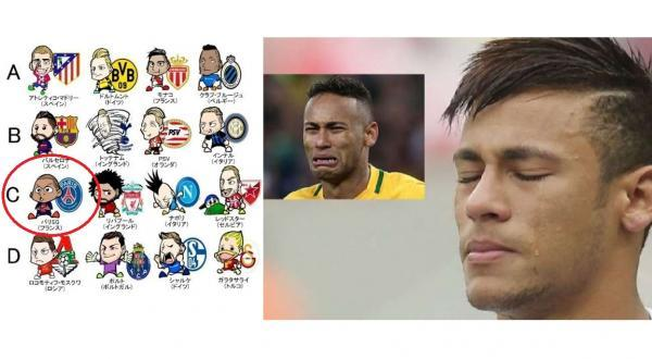 Neymar is in Mbappes shadow