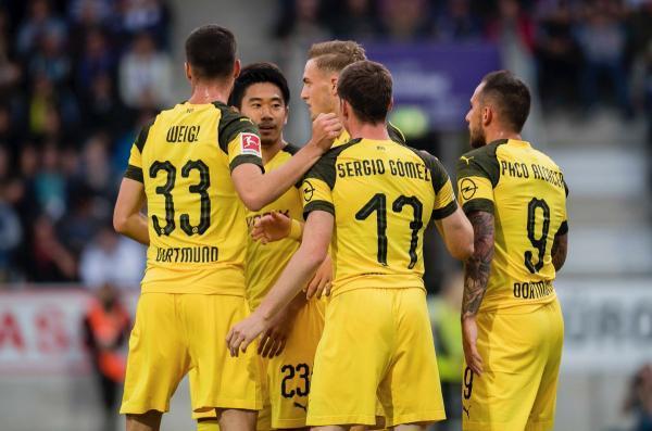 kagawa 2 asissts VfL Osnabrück (Friendly)