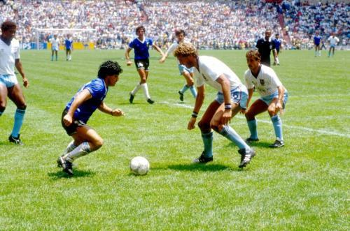 every type of physique can play football Maradona