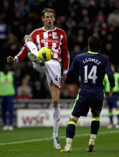 how tall Peter Crouch