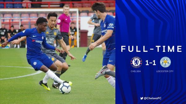 Chelsea U23s 1-1 LCFC U23s Okazaki goal earns point for City
