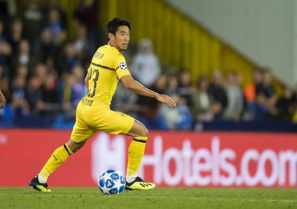 Kagawa in action vs Club Brugge 1_0